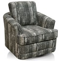England Amos Swivel Chair - Item Number: 8G00-69-Drip Flannel