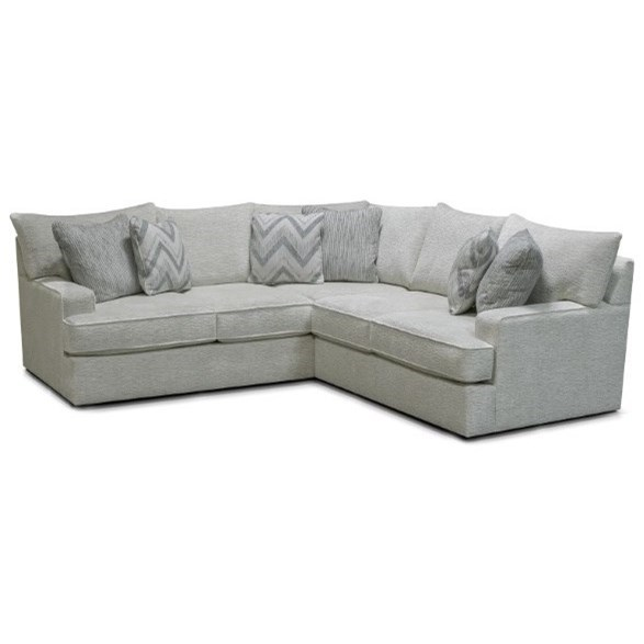 Anderson Left-Facing 2-Piece Sectional  by England at Van Hill Furniture