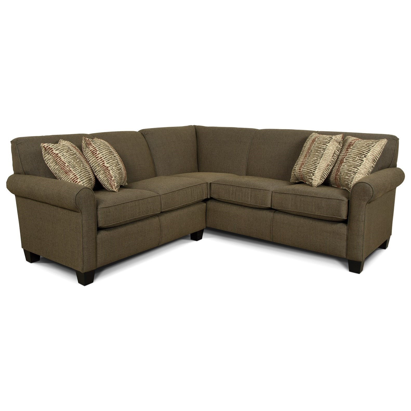 England Angie Small Corner Sectional Sofa Prime Brothers