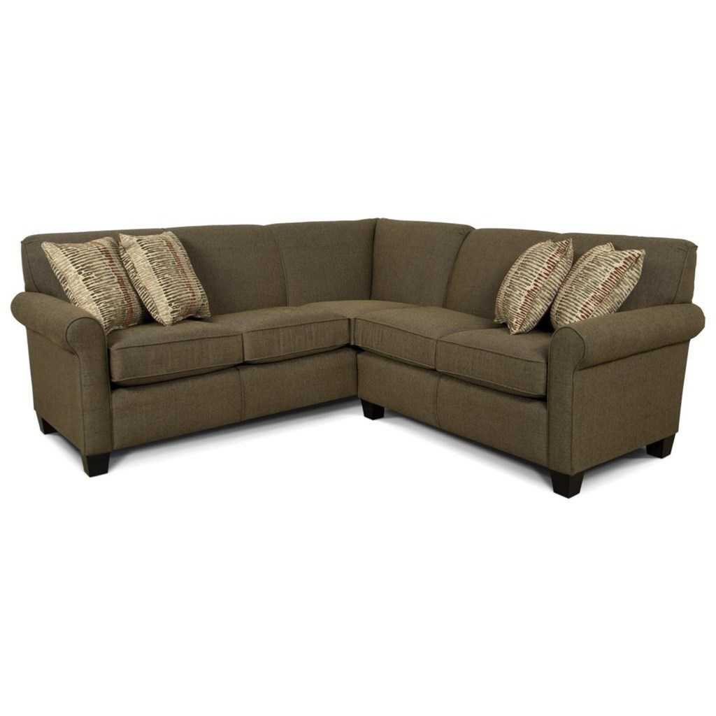 Angie  Sectional Sofa by England at Virginia Furniture Market
