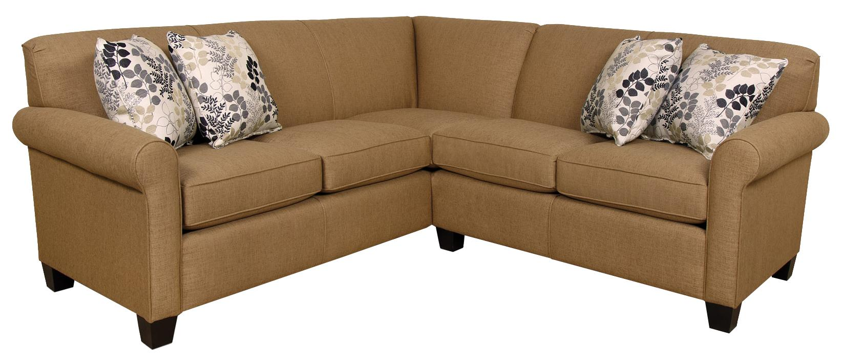 England Angie  Sectional Sofa - Item Number: 4630-64+28