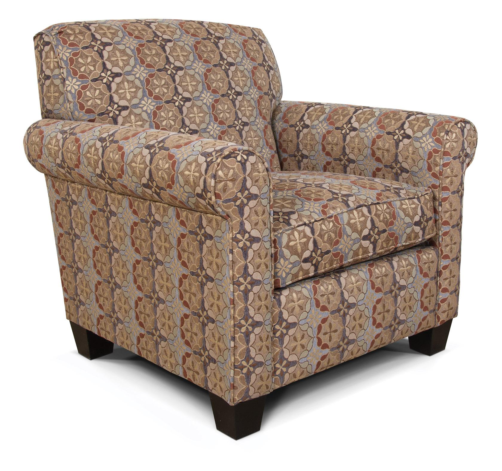 England Angie  Casual Rolled Arm Chair - Item Number: 4634