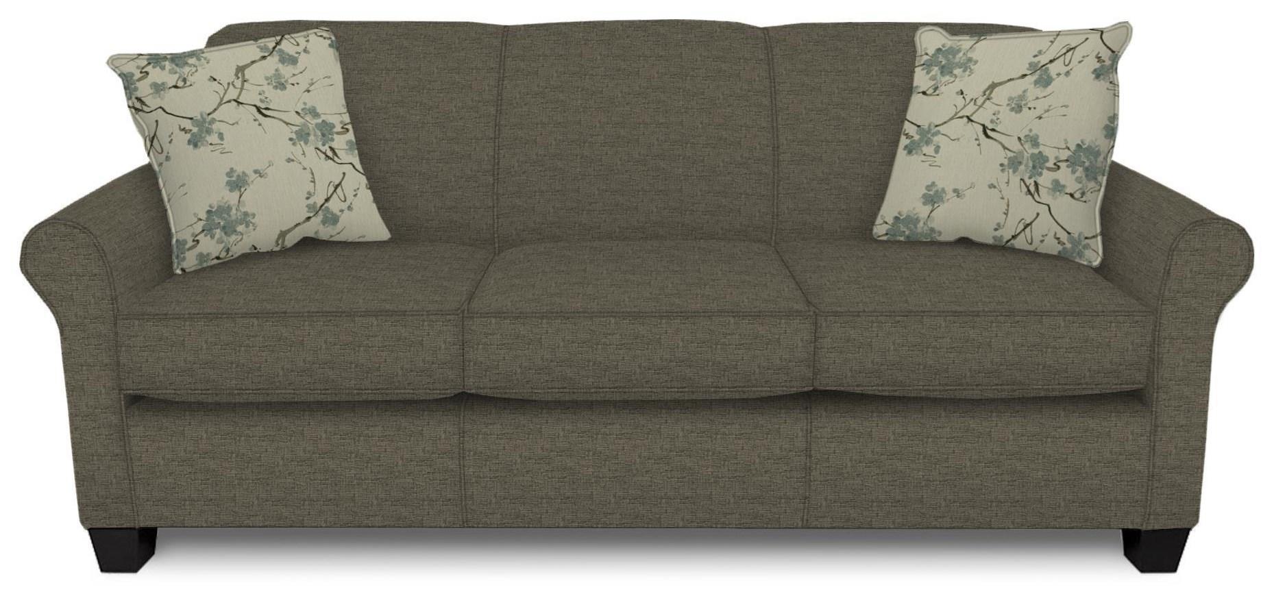 Damian Casual Stationary Sofa by England at Crowley Furniture & Mattress