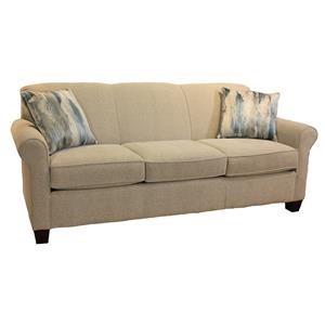 Casual Stationary Sofa