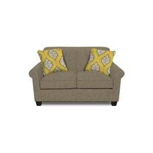 England Angie  Rolled Arm Love Seat