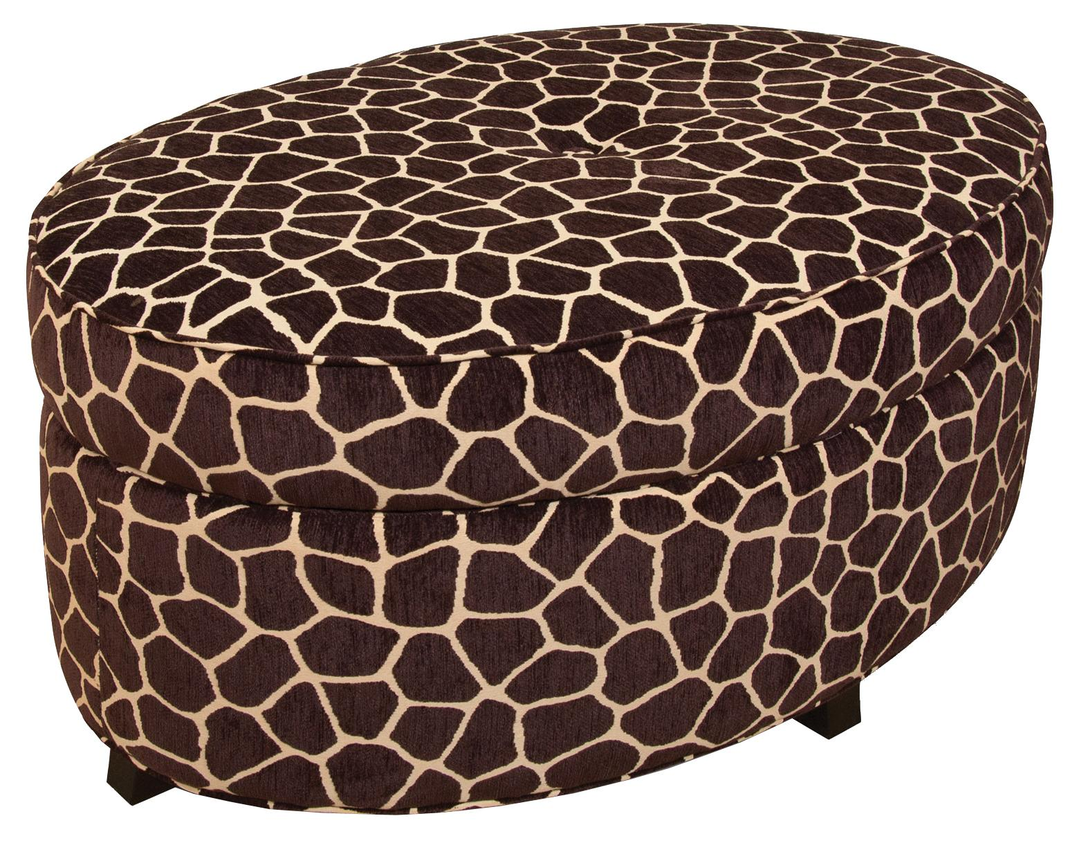 Betty Betty Storage Ottoman by England at Virginia Furniture Market