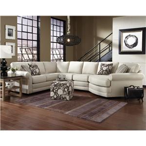 5 Seat Sectional Sofa Cuddler