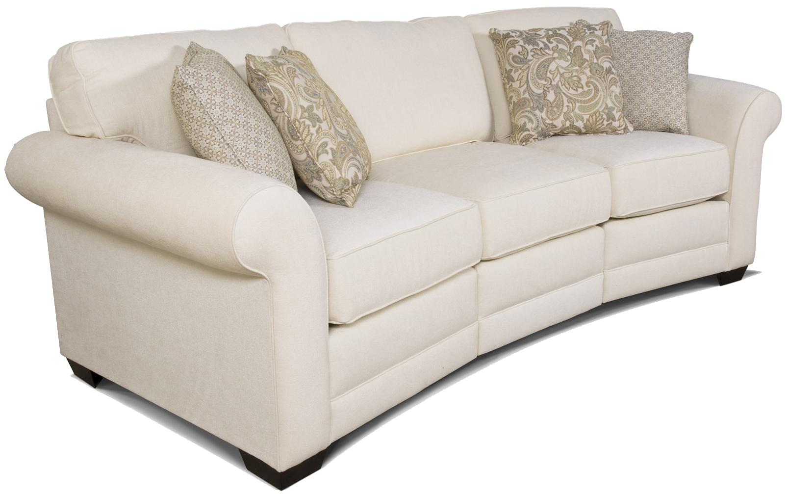 England Brantley Conversation Sofa - Item Number: 5630-36+21+35