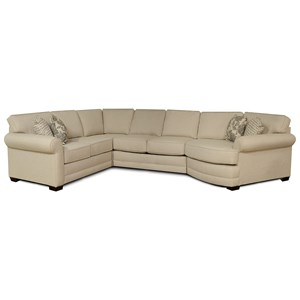 5 Seat Sectional Sofa Cuddler