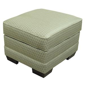 England The A Series Upholstered Ottoman