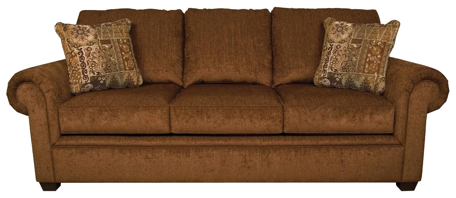 England Brett Rolled Arm Sofa - Item Number: 2255