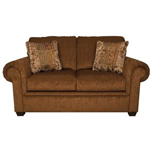 England Brett Rolled Arm Loveseat