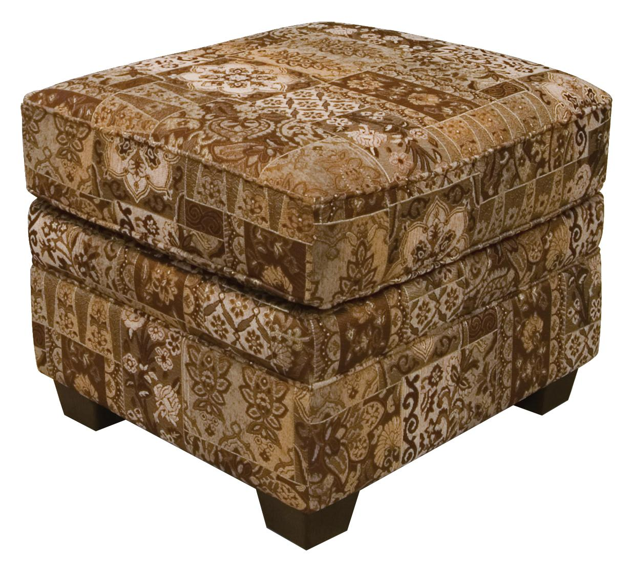 England Brett Welted Ottoman - Item Number: 2257
