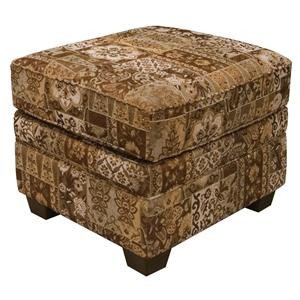 Welted Ottoman