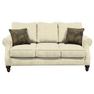England Brinson And Jones Small Scale Loveseat Pilgrim Furniture City Love Seat