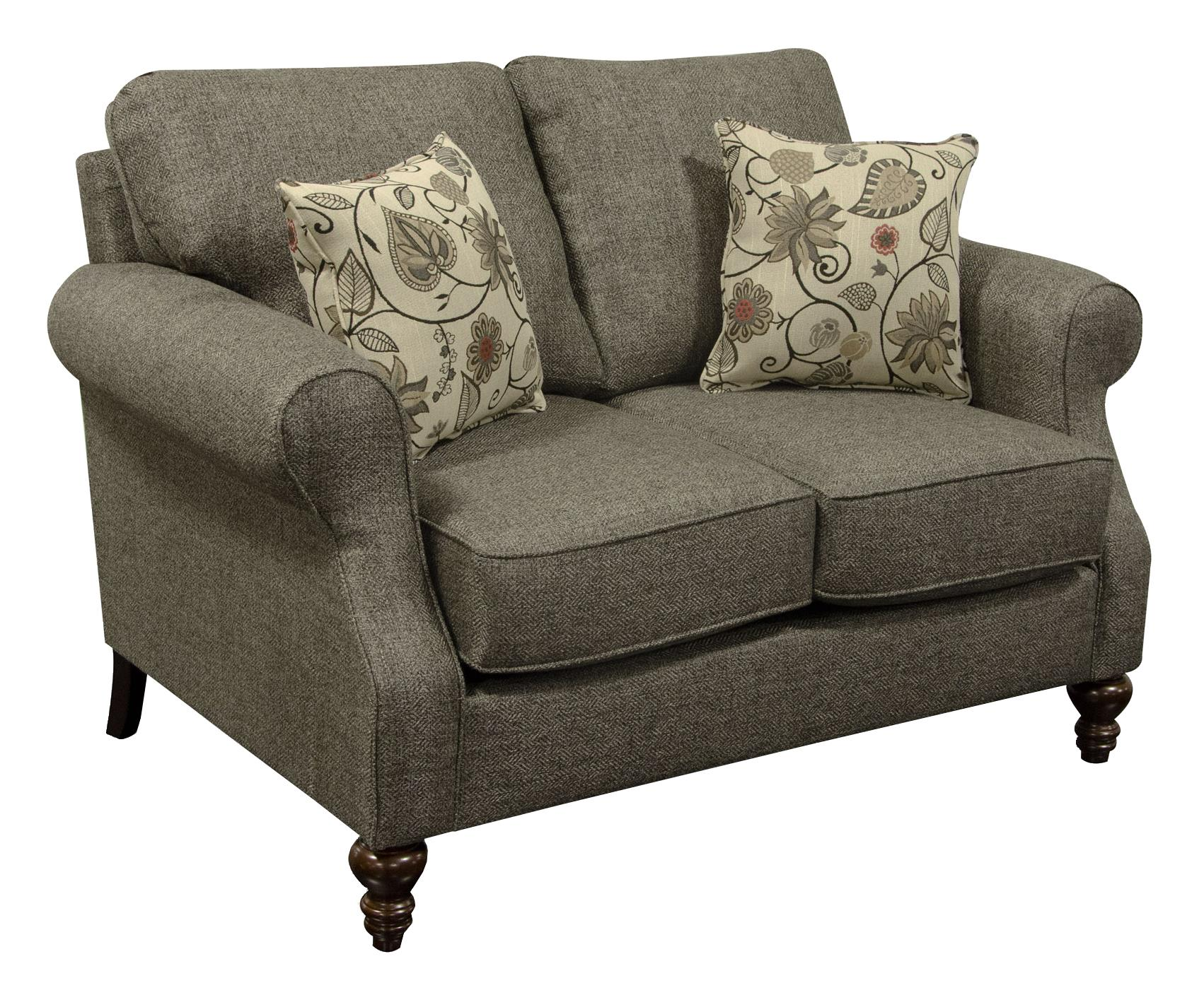 England Brinson and Jones Small Scale Loveseat - Item Number: 1Z06-7368