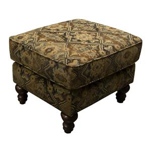 England Brinson and Jones Small Scale Ottoman