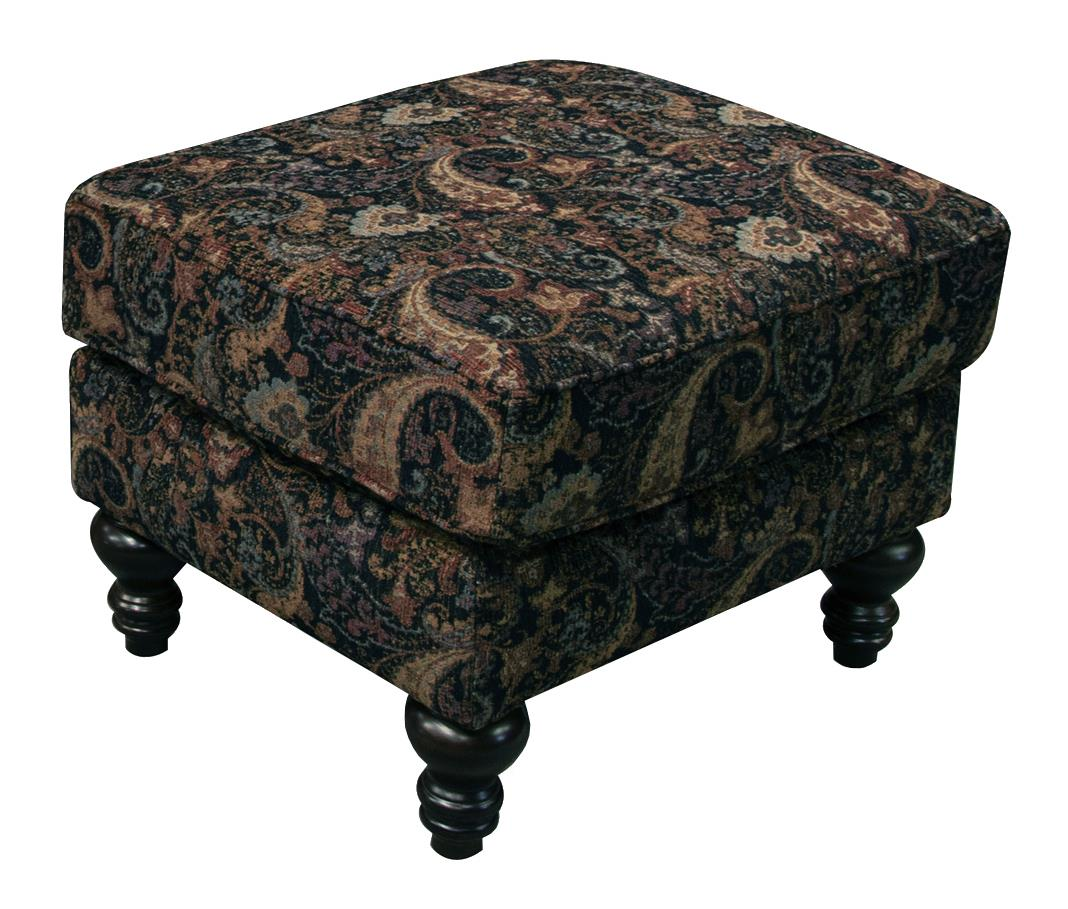 England Brinson and Jones Small Scale Ottoman - Item Number: 2Z07-7321