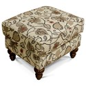 England Brinson and Jones Small Scale Ottoman - Item Number: 2Z07-Tulsa Classic