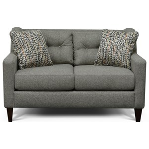 England Brody Tufted Back Loveseat