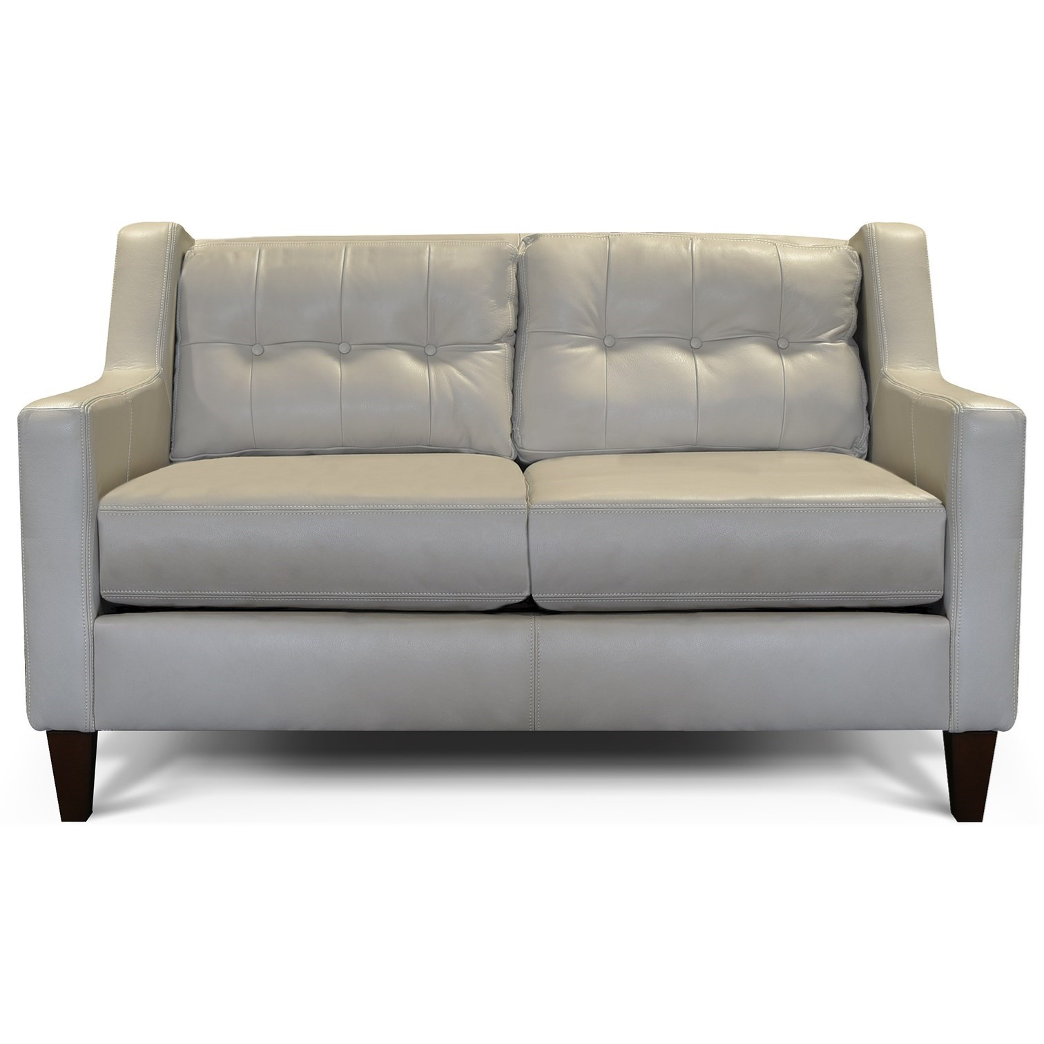 England Brody 6l06al Tufted Back Loveseat Coconis Furniture Mattress 1st Love Seats