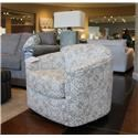 England Camden Spin City Flannel Swivel Glider Chair - Item Number: 9950-71 FK SPINCITY-FLANNEL