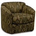 England Camden Chair - Item Number: 9950-71-Warbler_Moccasin