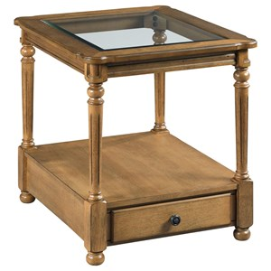 England Candlewood Rectangular Drawer End Table
