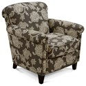 England Cannon Chair - Item Number: 7S04-Arabella Flannel