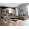 England Catalina Stationary Living Room Group - Item Number: 6N00 Living Room Group 1