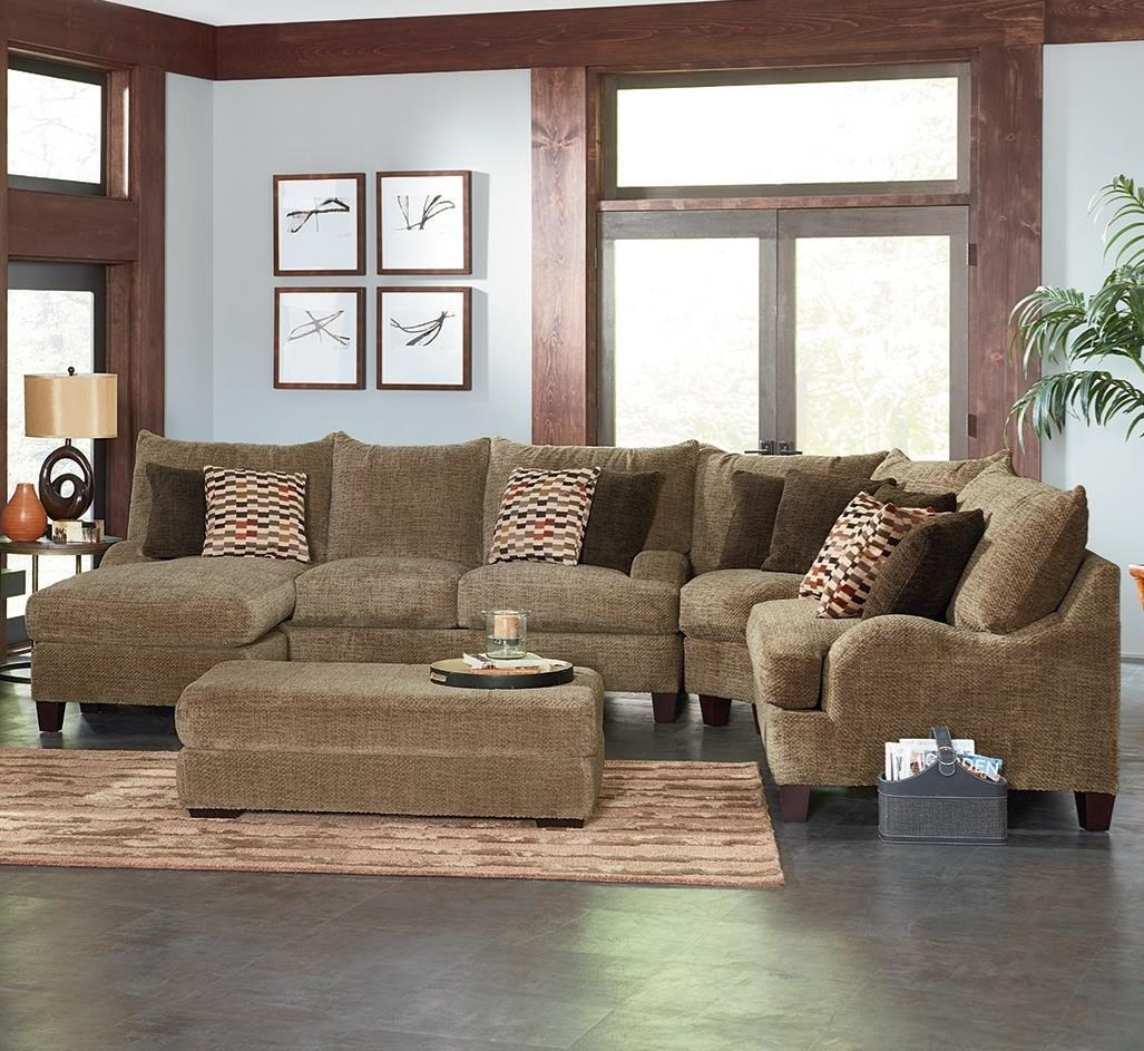 Astonishing England Catalina 3 Piece Modular Sectional Dunk Bright Squirreltailoven Fun Painted Chair Ideas Images Squirreltailovenorg