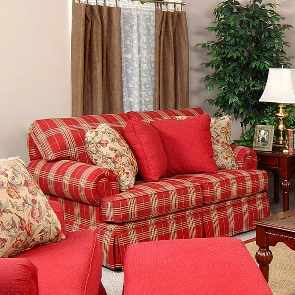 England Clare 5376 Two Over Two Loveseat