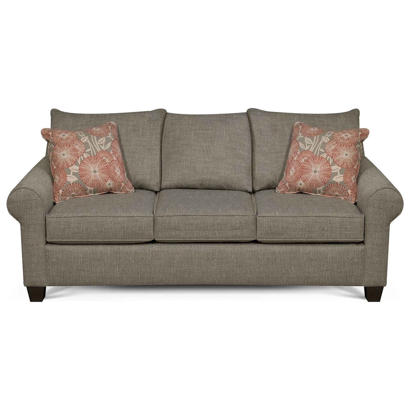 England Clementine Casual Sofa With Rolled Arms Jordan S