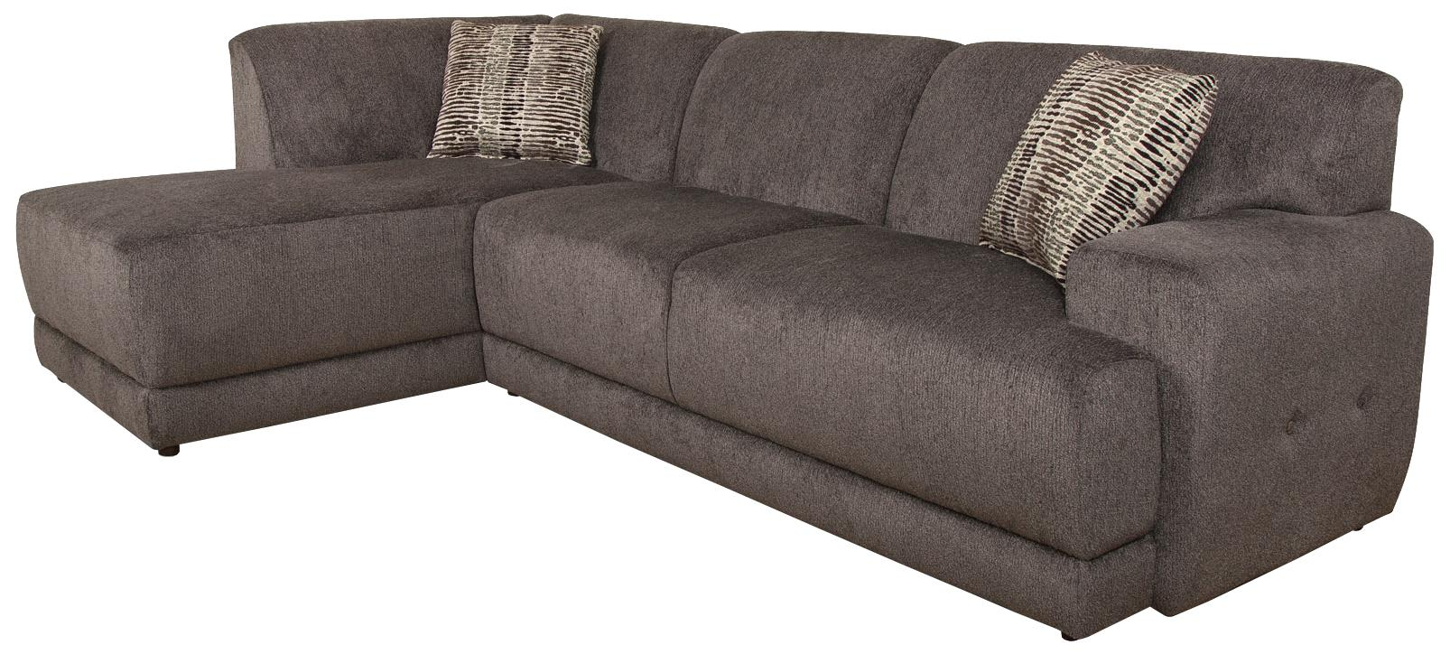 England Cole  Sectional Sofa with Left Facing Chaise - Item Number: 2880-06+23