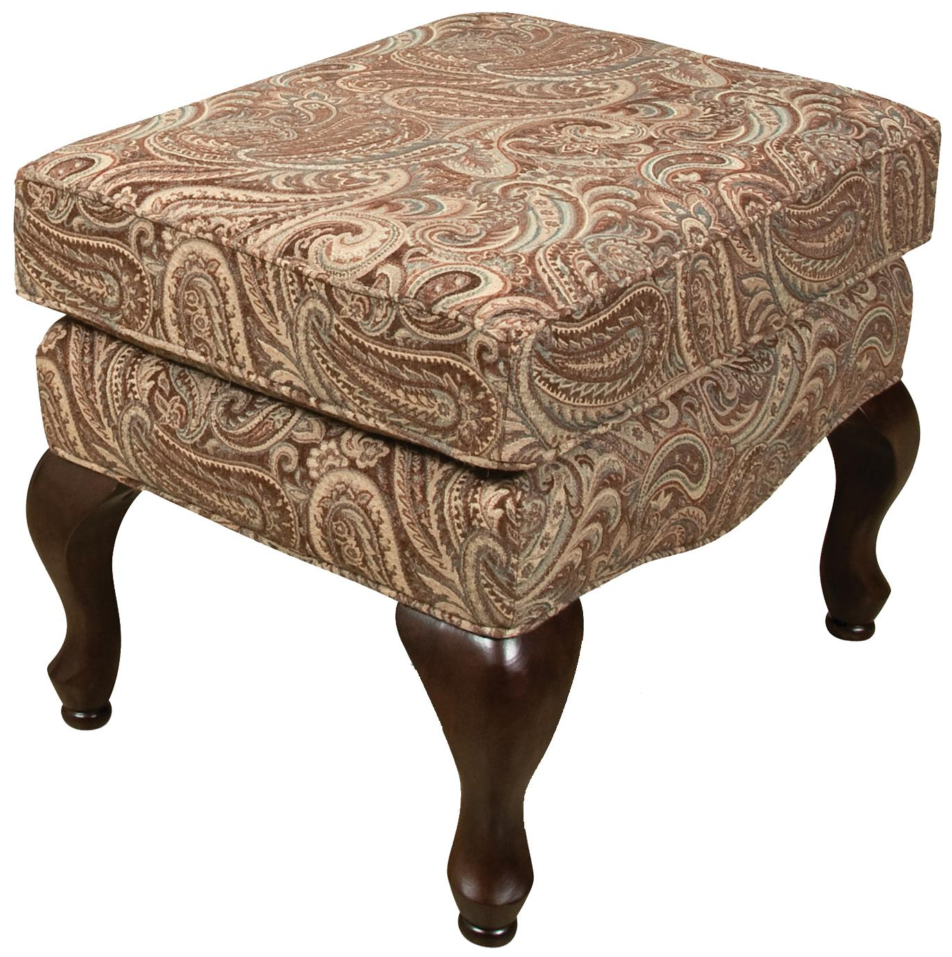 England Colleen Ottoman - Item Number: 1337