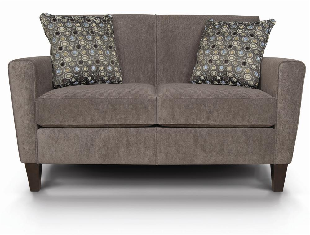 England Collegedale Upholstered Loveseat - Item Number: 6206