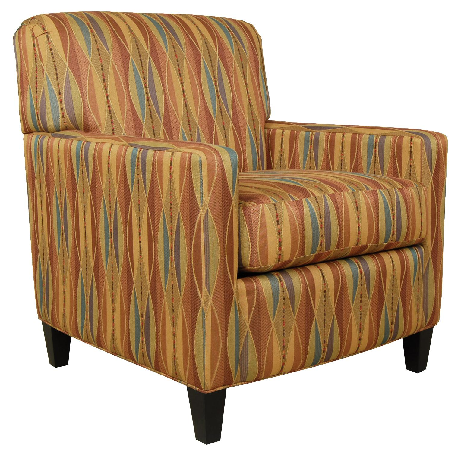 England Cosmopolitan  Upholstered Chair - Item Number: 8554
