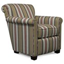England Cunningham Rolled Back Chair - Item Number: 3C24-Adobe-Crayon