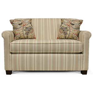 Rolled Back Loveseat