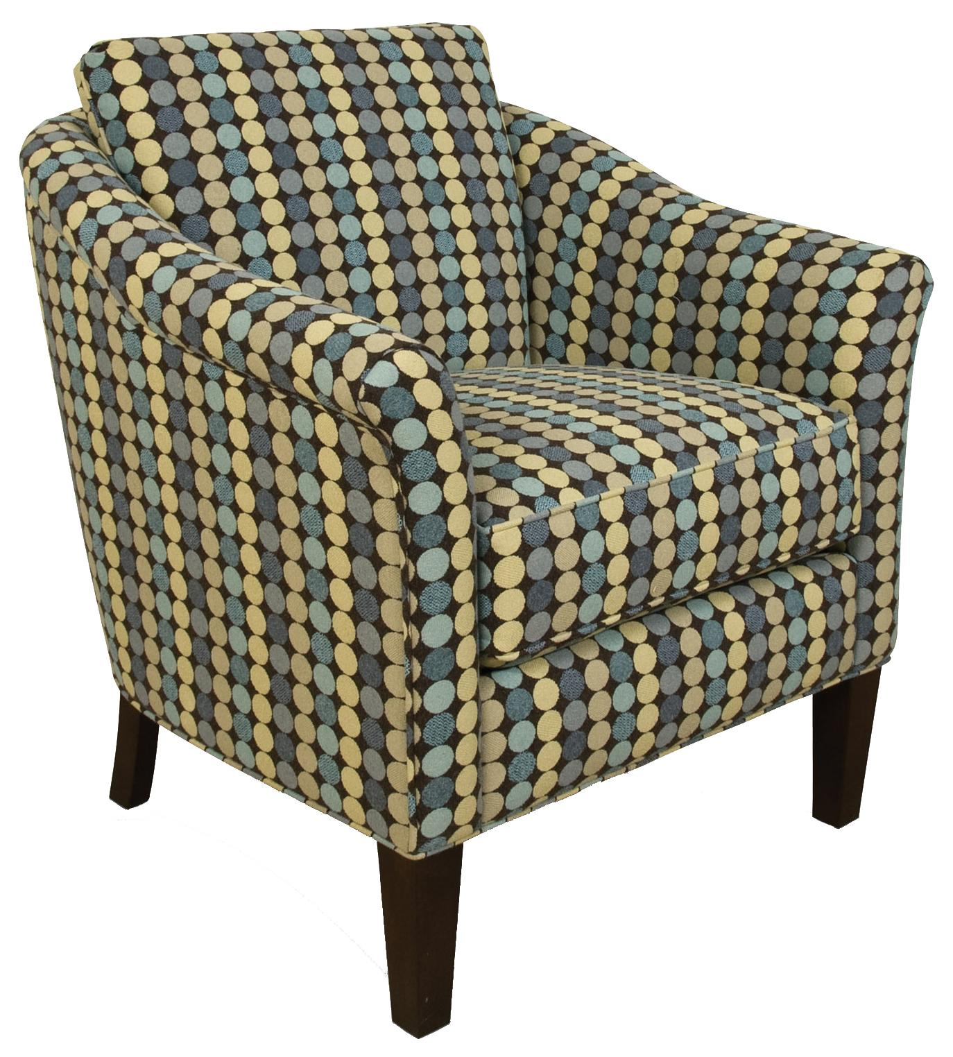England Denise 1554 Chic Accent Chair With Cosmopolitan