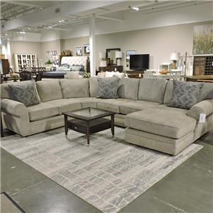 4 Piece Stationary Sectional