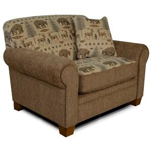 England Edgar Chair & A Half