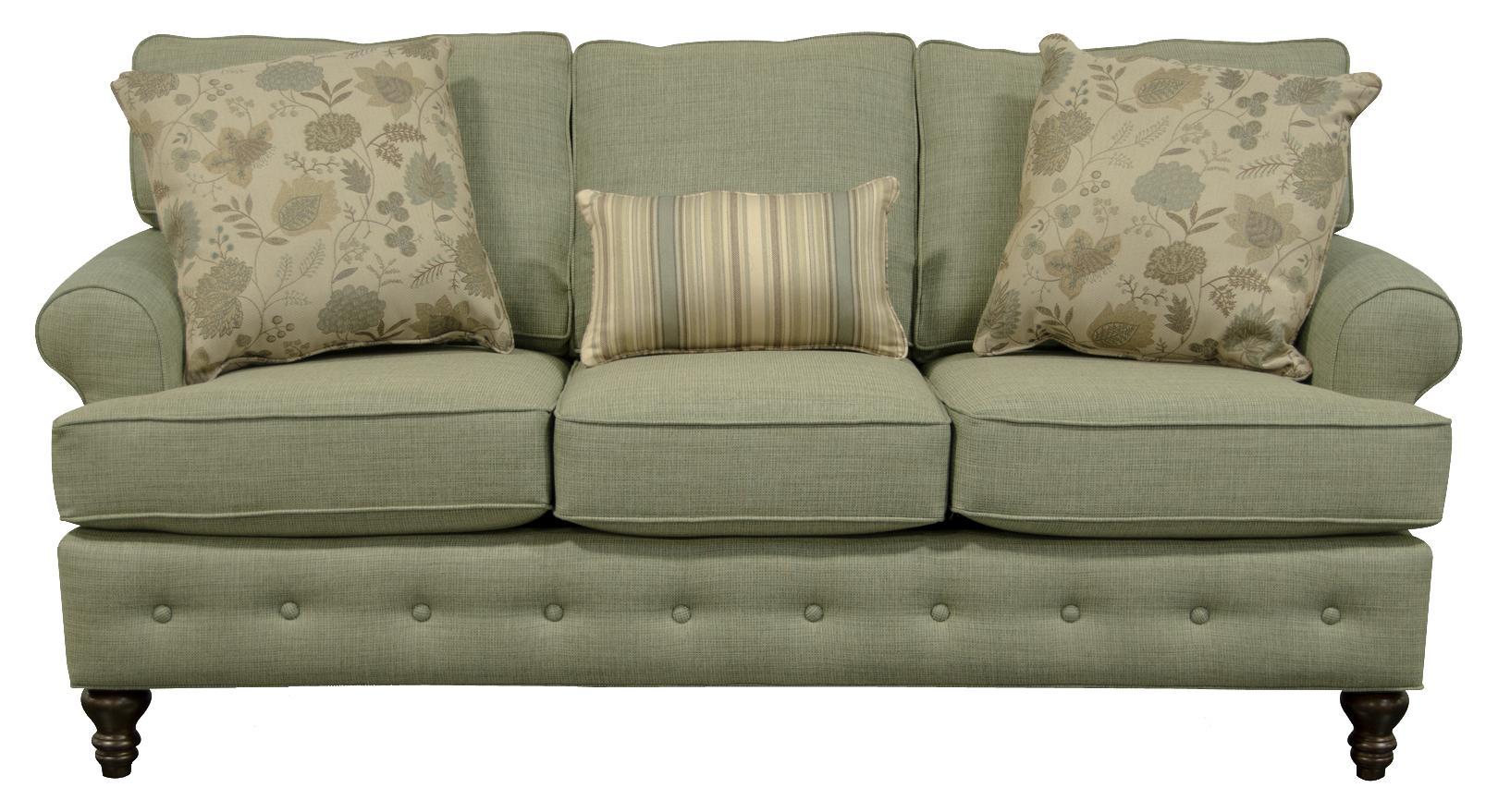 England Evans Living Room Sofa - Item Number: 8485 Toluca Sea