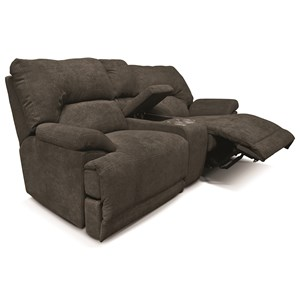 England EZ13 Double Reclining Console Loveseat