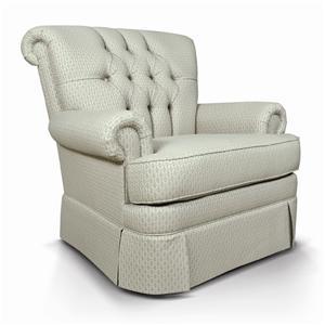 England Fernwood Rollback Upholstered Chair