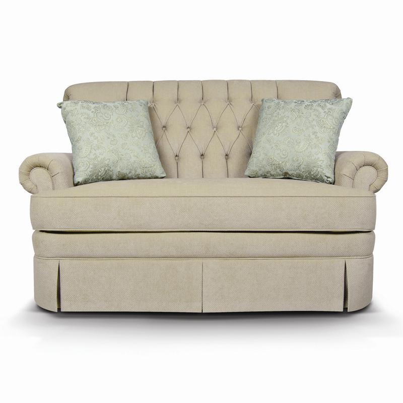 England Fernwood 1156 Loveseat With Skirt Furniture And