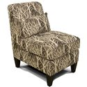 England Glenna Armless Upholstered Chair - Alternate Fabric