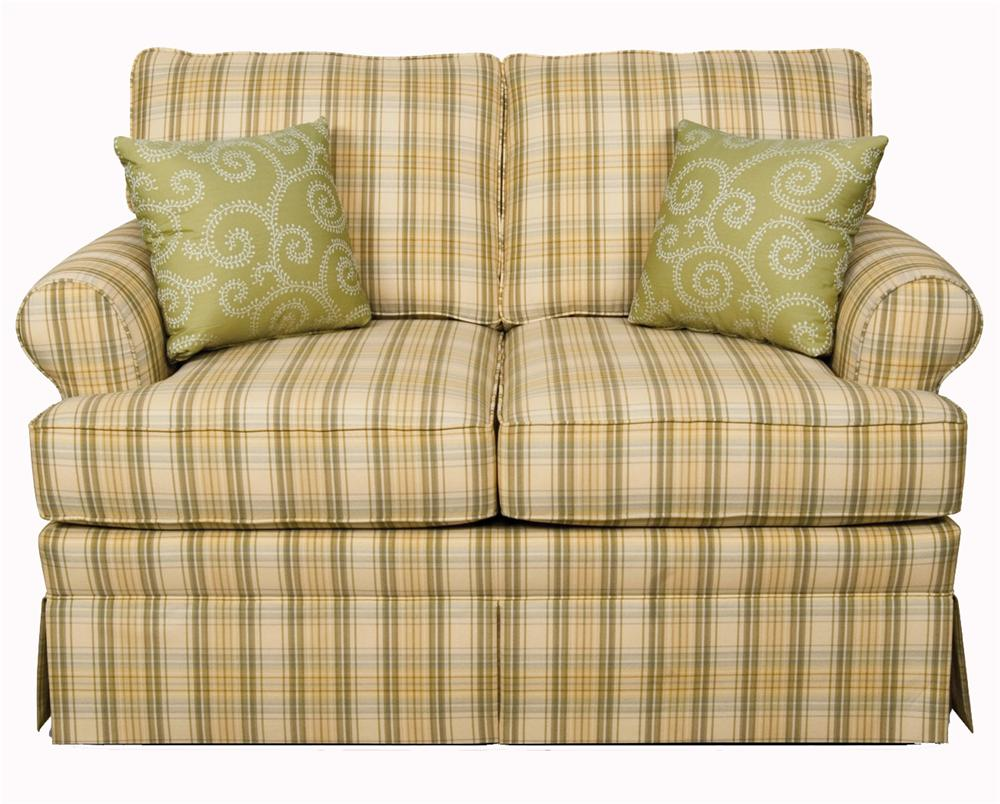 England Grace  Upholstered Loveseat - Item Number: 5346