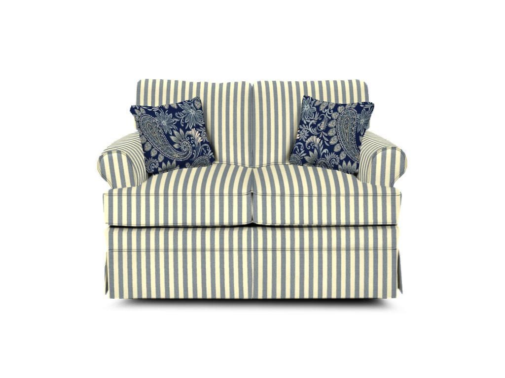 England Grace  Upholstered Loveseat - Item Number: 5346