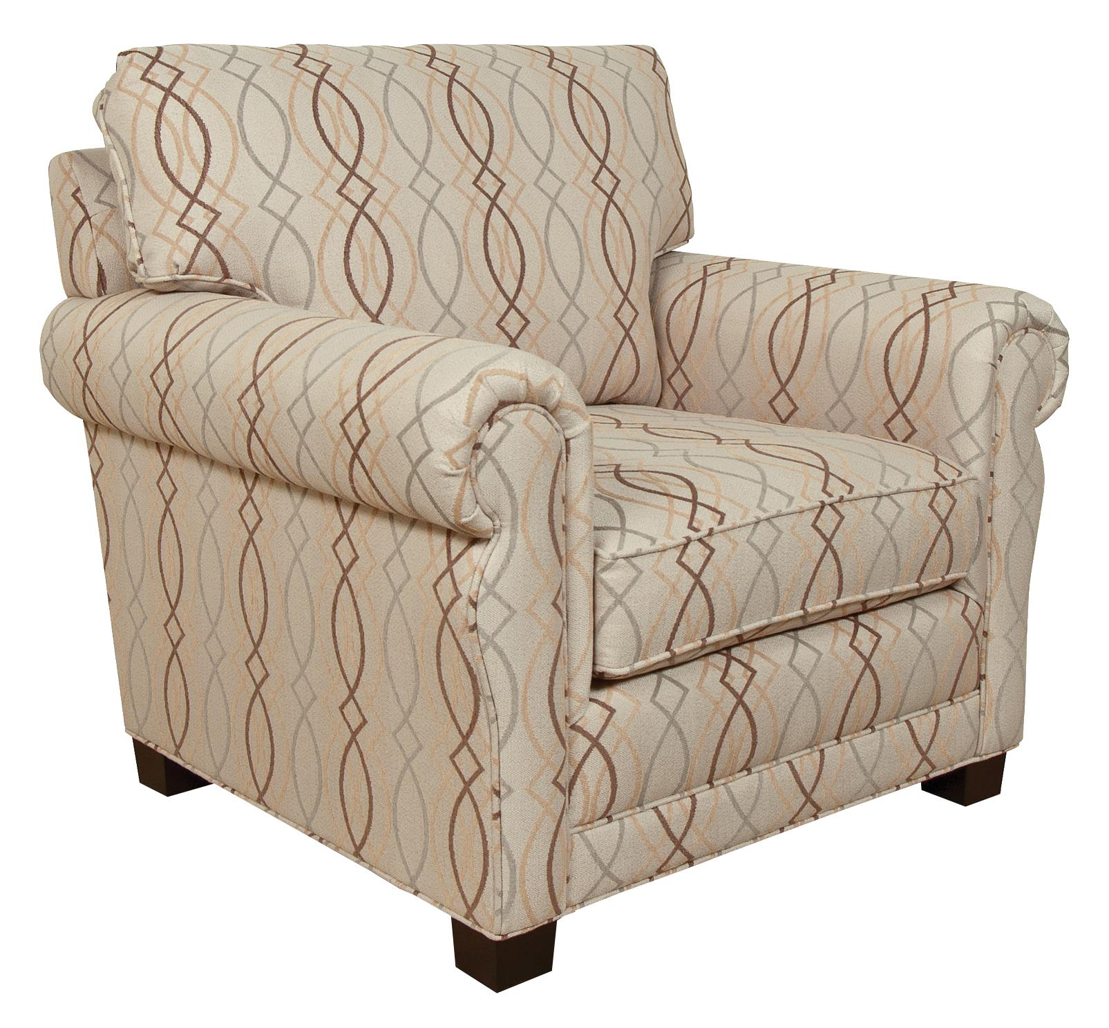 England green living room arm chair virginia furniture - Upholstered benches for living room ...